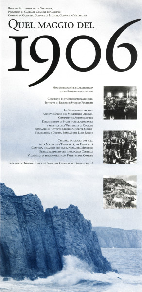 Quel maggio del 1906 - Modernizzazione e arretratezza nella Sardegna giolittiana
