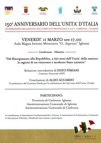 Dal Risorgimento alla Repubblica, a 150 anni dall'Unità della nazione: le ragioni di un rinnovato e moderno Stato unitario
