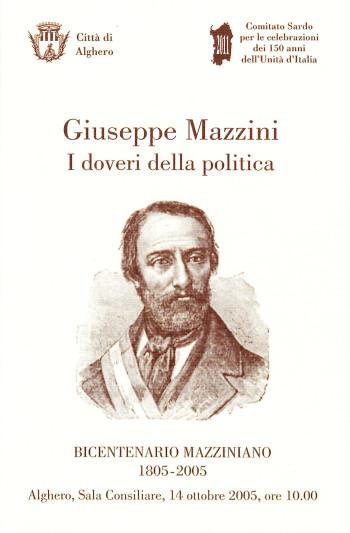 Giuseppe Mazzini - I doveri della politica