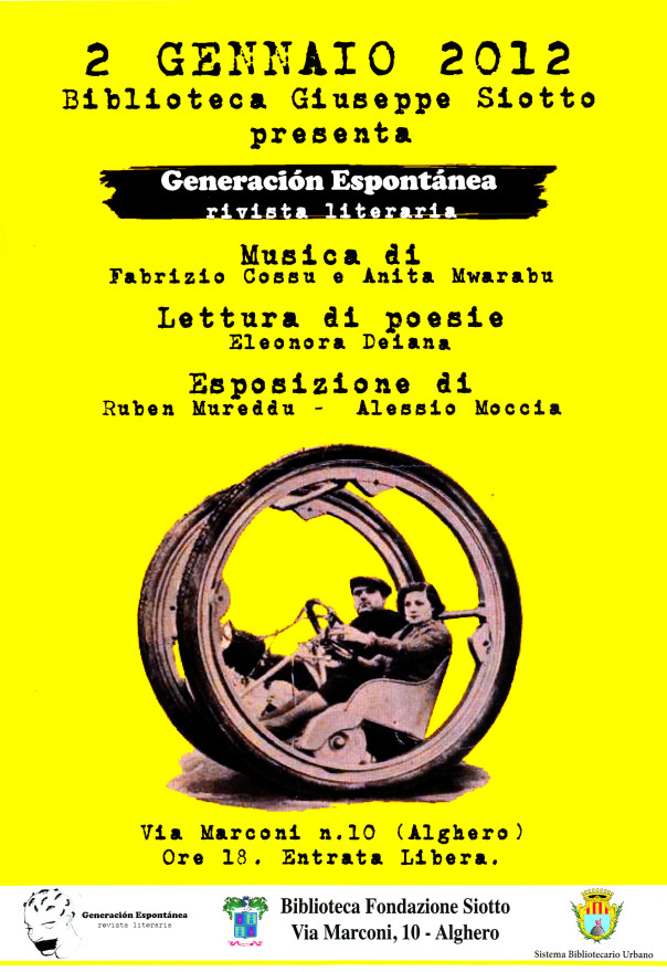Generación Espontánea – rivista literaria