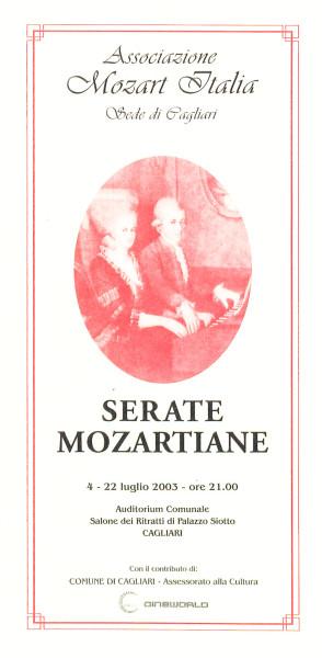 Serate mozartiane 2003