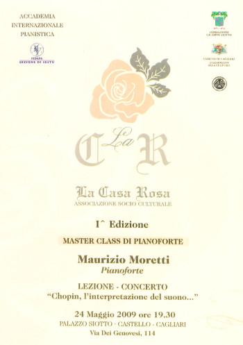 """Lezione-concerto """"Chopin, l'interpretazione del suono"""" - Maurizio Moretti"""