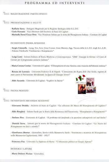 I volti dell'Unità d'Italia - Eventi, questioni e tematiche del processo di unificazione italiano