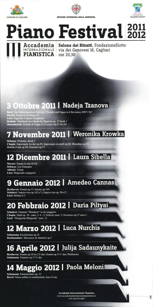 Piano Festival 2011-2012