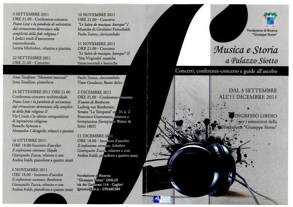 Musica e Storia a Palazzo Siotto