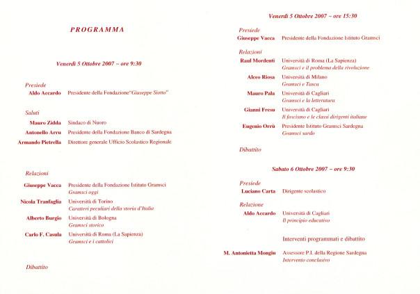 Gramsci e la storia d'Italia - Convegno di studi
