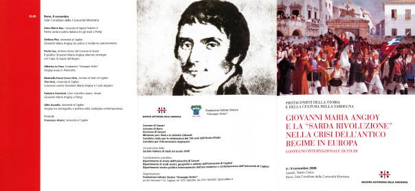 """Giovanni Maria Angioy e la """"Sarda Rivoluzione"""" nella crisi dell'Antico Regime in Europa"""