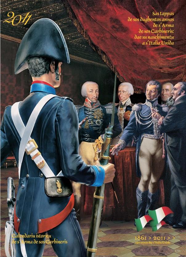 Calendario storico dell'Arma dei carabinieri - 2011