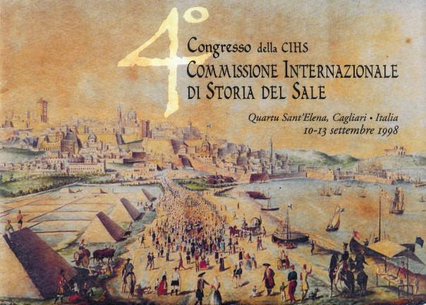 4° Congresso della CIHS - Commissione internazionale di storia del sale