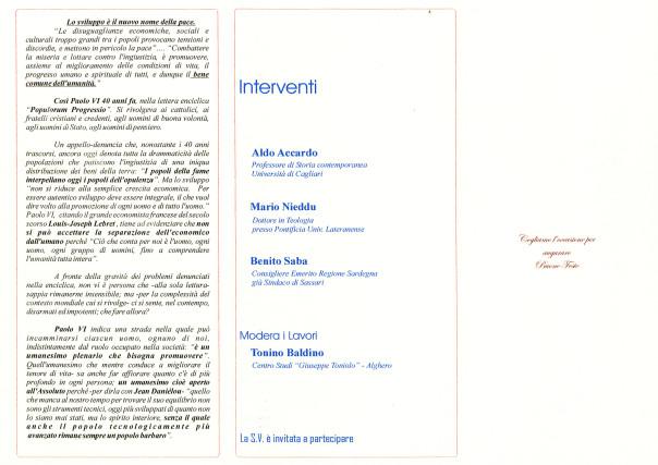 L'umanesimo plenario - Sentiero per il bene comune