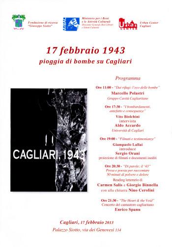 17 febbraio 1943 - Pioggia di bombe su Cagliari