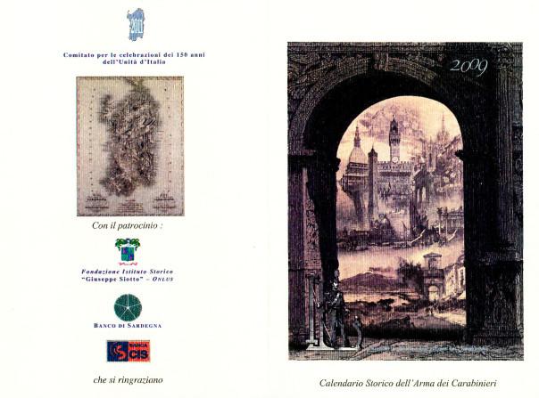 Presentazione calendario storico dell'Arma dei Carabinieri - 2009