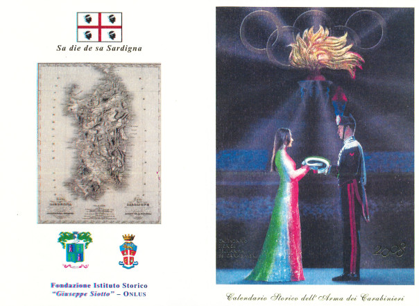 Presentazione del Calendario storico dell'Arma dei Carabinieri - Edizione 2008