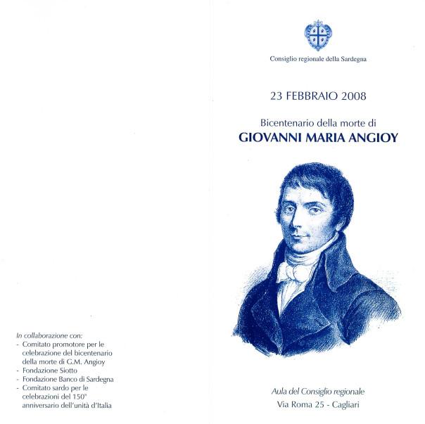 Bicentenario della morte di Giovanni Maria Angioy
