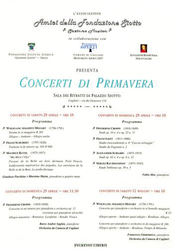 Concerti di Primavera - Monumenti Aperti 2007