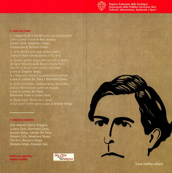 Presentazione di: Giovanni Battista Tuveri - Tutte le opere