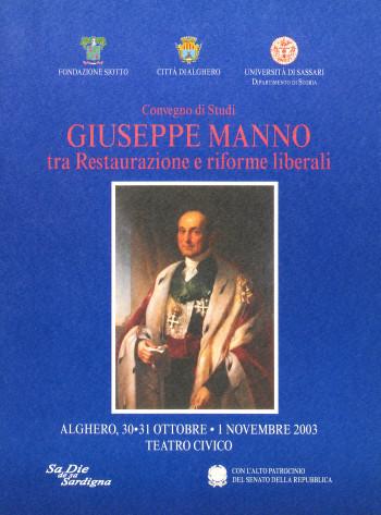 30 ottobre Giuseppe Manno tra restaurazione e riforme liberali (convegno di studi) 01