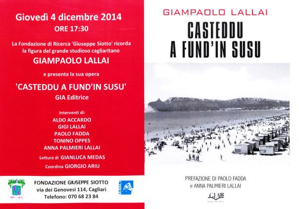 Giampaolo Lallai - Casteddu a fund'in susu