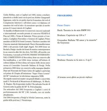 Concerto per pianoforte - Note per la ricerca