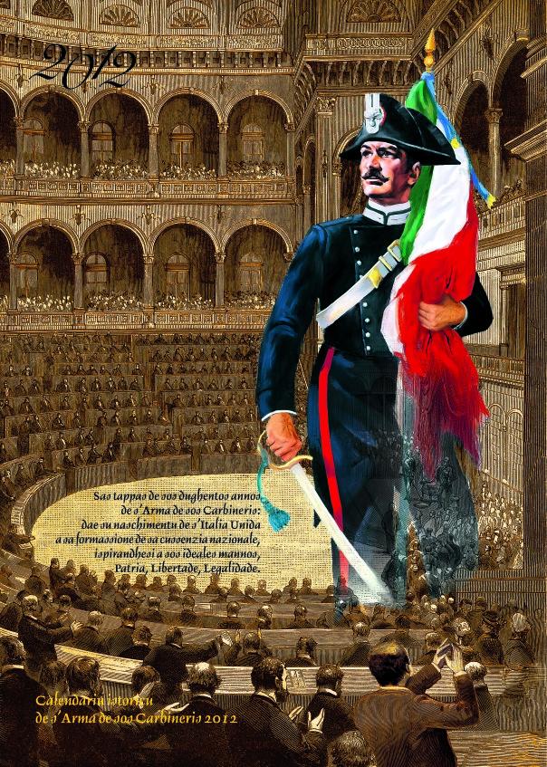 Calendario storico dell'Arma dei carabinieri - 2012