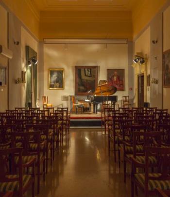 Improvvisando Mozart a Palazzo Siotto
