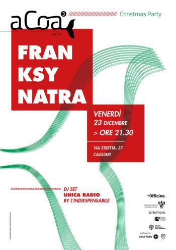 Christmas Party alle Officine con Franksy Natra e Unica Radio