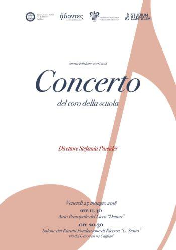 Concerto del coro del Liceo Dettori