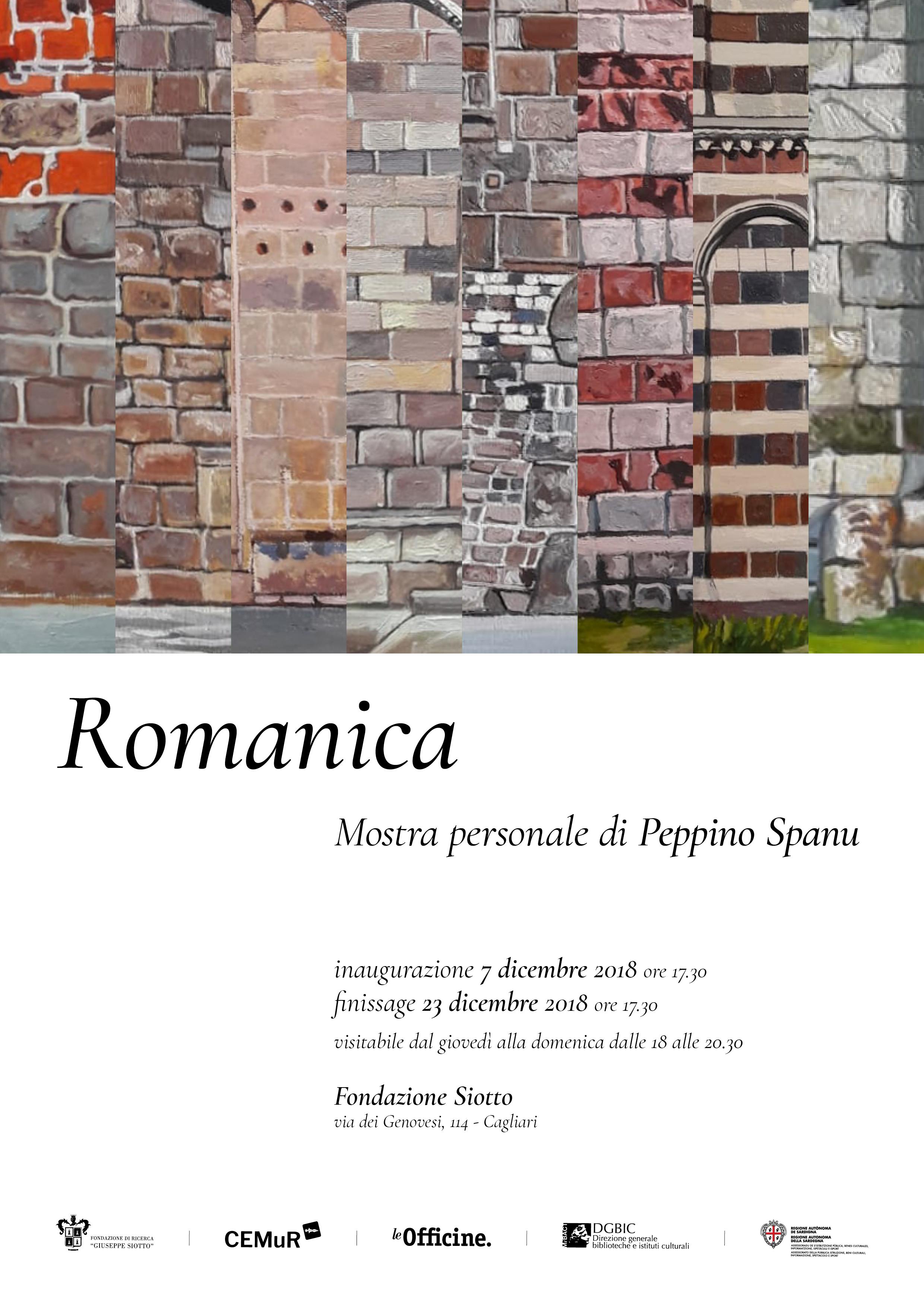 Romanica, personale di Peppino Spanu