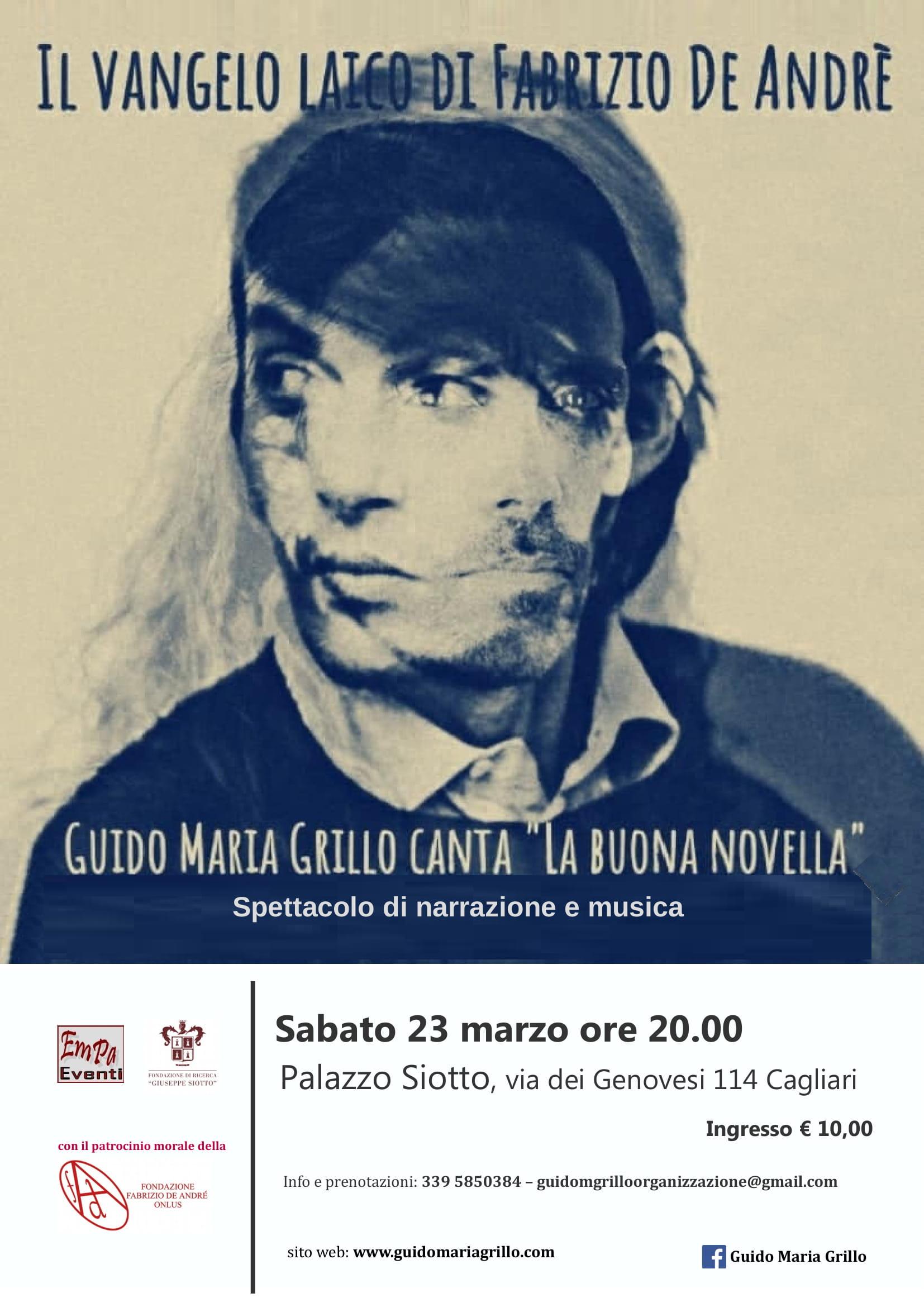 Guido Maria Grillo a Palazzo Siotto