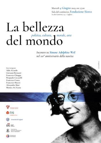 La bellezza del mondo – incontro su Simone Weil