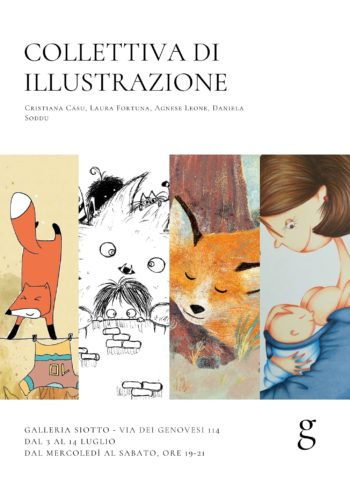 Collettiva di illustratrici in Galleria