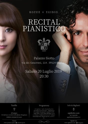 Recital pianistico: Egidio Loi e Kozue Takeda