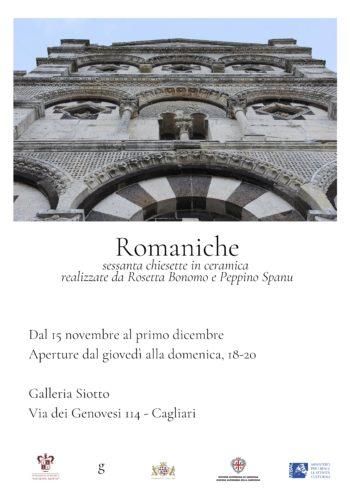Romaniche. Mostra nella Galleria Siotto.