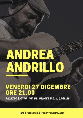Andrea Andrillo in concerto