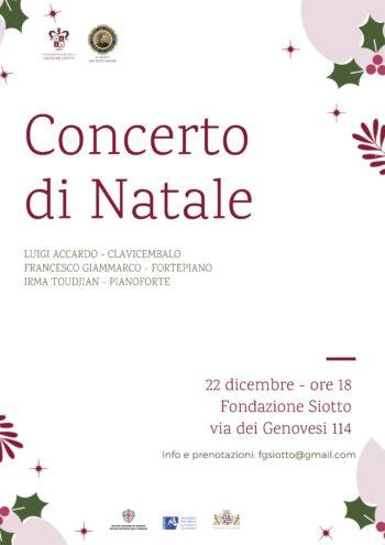 Concerto di Natale in Fondazione