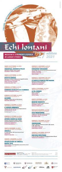 Echi Lontani 2021 – XXVII edizione